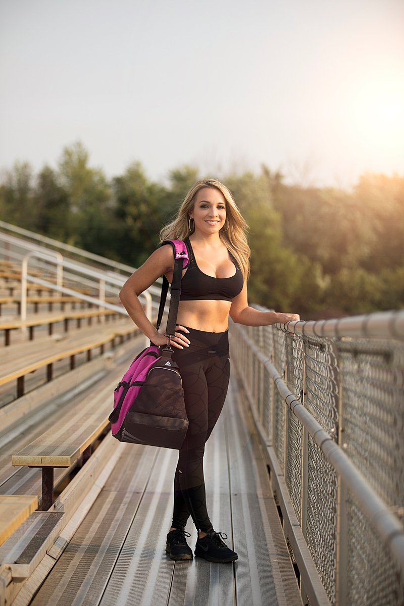 Personal Trainer Personal Branding Photography by Dutch Girl Photography